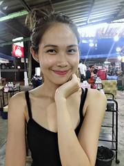 portrait (ChalidaTour) Tags: thailand thai asia asian girl femme fils chica nina woman teen sweet cute beautiful pretty petite slender slim portrait black night