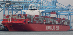 CAP SAN LAZARO (kees torn) Tags: europoort denieuweprins ret fastferry hoekvanholland europahaven rhenus containerschepen hamburgsüd apmterminal capsanlazaro