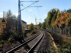 Autumn's Railway (halleluja2014) Tags: ontrack sunnymonday höstfärger autumncolors järnväg falun autumn october railroad railway