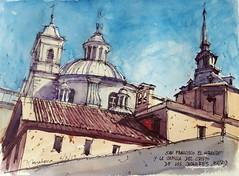Cúpulas y torres (P.Barahona) Tags: iglesias cúpulas torres arquitectura madrid