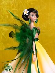Flower Of Temple (davidbocci.es/refugiorosa) Tags: barbie mattel fashion doll muñeca refugio rosa david bocci ooak tropical karl
