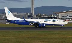Blue Air  YR-BMG, OSL ENGM Gardermoen (Inger Bjørndal Foss) Tags: yrbmg blueair boeing 737 osl engm gardermoen