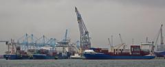 Rhenus Europahaven (kees torn) Tags: europoort denieuweprins ret fastferry hoekvanholland europahaven rhenus containerschepen