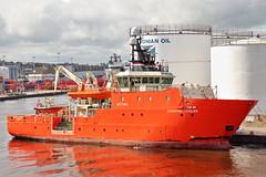 Grampian Cavalier (Iain Maciver SY) Tags: errv rescue vesse ship vessel aberdeen scotland oil oilindustry northstar northstarshipping harbour port