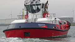 INNOVATION (kees torn) Tags: bolugatowage tug asdtug hybridpowered damenshipyard scheurhaven europoort denieuweprins ret fastferry calandkanaal