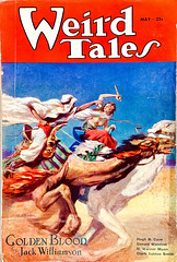Weird Tales, Vol. 21, No. 5 (May 1933). Cover by J. Allen St. John (lhboudreau) Tags: 1933 may1933 jallenstjohn goldenblood jackwilliamson pulp pulps pulpart pulpmagazine pulpmagazines magazine magazines magazineart coverart weirdtales weird horror fantasy fictionmagazine fantasystories horrorstories vintagepulp vintagepulps vintagepulpmagazine vintagepulpmagazines pulpfiction volume21number5 camel camels arabian damselindistress helplesswoman ladyinperil serialized serial desert arab novel story lostracenovel arabia illustration paintedcover sciencefiction adventure adventures