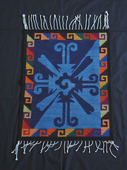 Zapotec Weaving Oaxaca Mexico Textiles (Teyacapan) Tags: tapete zapotec rugs weavings mexican oaxaca teotitlandelvalle textiles