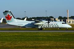 C-GTAQ (Air Canada express - JAZZ) (Steelhead 2010) Tags: aircanada aircanadaexpress jazz dehavillandcanada dhc8 dhc8300 dash8 yul creg cgtaq
