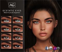 Ecstatic Eyes (Avi-Glam) Tags: aviglam ag mesh system eyes omega catwa genus appliers sl