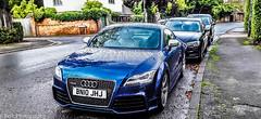 Audi TTRS Blue (federicoloforte) Tags: audittrs audi blue davanti meanface germansupercar germanracecar stanmore