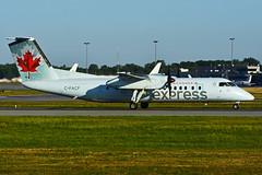 C-FACF (Air Canada EXPRESS - JAZZ) (Steelhead 2010) Tags: aircanada aircanadaexpress jazz dehavillandcanada dhc8 dhc8300 dash8 yul creg cfacf