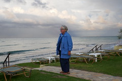 Ritsa Dressed for the Weather (RobW_) Tags: ritsa raincoat freddiesbar tsilivi zakynthos greece friday 04oct2019 october 2019