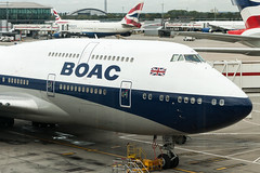BA 747-400 (BOAC Retro) (Martyn Cartledge / www.aspphotography.net) Tags: 747400 aerodrome aeroplane air aircraft airline airliner airplane airport aspphotography aviation ba100 boac boeing britishairways cartledge civilairline civilairliner flight fly flying flywinglets gbygc jet man manchester martyn plane retro runway transport wwwaspphotographynet wwwflywingletscom uk asp photography