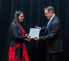 ALBERTA: Award recipient/lauréat Project Adult Literacy Society (P.A.L.S.) (rep. by/par Monica Das), with the Honorable/avec l'honorable Demetrios Nicolaides, Minister of Advanced Education/ministre de l'Éducation supérieure