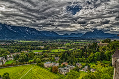 Salzburg from the fortress (Chris Atkins65) Tags: salzburg austria landscape mountains
