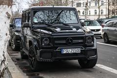 Poland (Sulecin) - Mercedes-AMG Brabus G 63 Exclusive Edition W463 (PrincepsLS) Tags: poland polish license plate berlin spotting fsu sulecin mercedesamg brabus g 63 exclusive edition w463