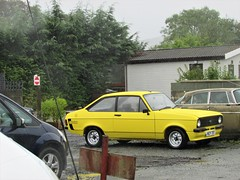 Ford Escort 1600 Sport (Andrew 2.8i) Tags: classics classic road kingdom united streetspotting cars car street spotting carspotting uk british saloon sedan mark 2 ii mk mk2 sport 1600 escort ford