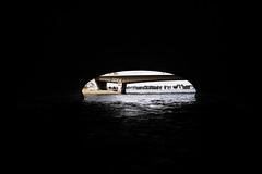 Hamburg Harbour (Peter Branger) Tags: activeassignmentweekly negativespace germany hamburg sailboat bridge water canoneosr canonrf35mmf18macroisstm