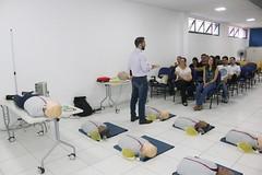 Profissionais da saúde de Caraguatatuba recebem capacitação em Urgência e Emergência Cardiovascular (Prefeitura de Caraguatatuba) Tags: profissionais saúde caraguatatuba recebem capacitação urgência emergência cardiovascular caraguá