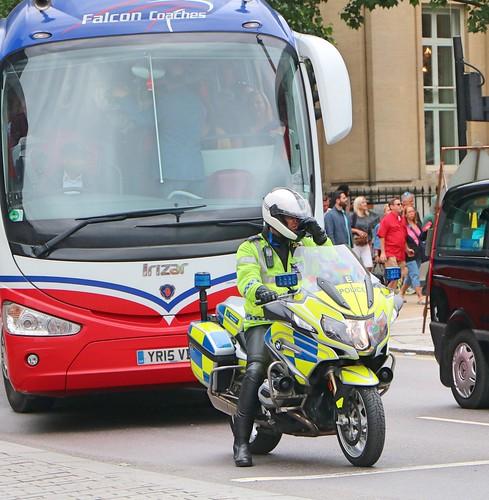 Metropolitan Police Service - Roads Policing - BX17DKA