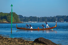 La Semaine du Golfe (Faouic) Tags: france bretagne morbihan golfedumorbihan lasemainedugolfe golfe gondole reflet réflection