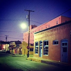 Texas Avenue at Dawn (Robert_Brown [bracketed]) Tags: robertbrown photography silvercityphotographer gilagallery silvercity newmexico southwest cellphone photos instagram samsungs10 s10 color nightphotography