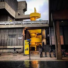 Royal Festival Hall (Flamenco Sun) Tags: pain ugly street southbank brutalist colour rain london