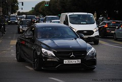 Mercedes-AMG C 63 Coupé - Russia, Orenburg (Helvetics_VS) Tags: licenseplate russia orenburg