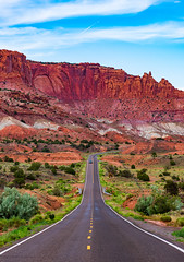 Route 24 - Capitol Reef, 2019 (Dino Sokocevic) Tags: nature landscape nationalpark nationalparkservice capitolreef utah mightyfive ut utahphotographers landscapes tamrion tamron tamronusa nikon nikonusa west wildwest desert