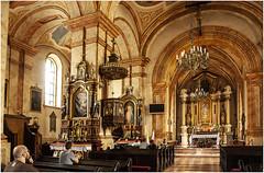 419- INTERIOR DE LA BASÍLICA DE LA PRESENTACIÓN - WADOWICE - (--MARCO POLO--) Tags: pueblos rincones templos iglesias basílicas