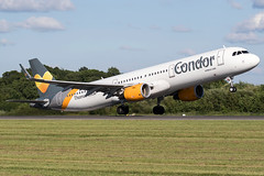 G-TCDR / Thomas Cook Airlines / Airbus A321-211(WL) (Charles Cunliffe) Tags: canon7dmkii aviation manchesterairport egcc man condor cfg de thomascookairlines tcx mt airbusa321 a321200 gtcdr