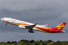 Hainan Airlines A330-300 (HaiManchester) (Martyn Cartledge / www.aspphotography.net) Tags: a330300 aerodrome aeroplane air airbus aircraft airline airliner airplane airport aspphotography aviation b8287 cartledge civilairline civilairliner flight fly flying flywinglets haimanchester jet man manchester martyn nainanairlines plane runway transport wwwaspphotographynet wwwflywingletscom uk asp photography