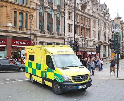 London Ambulance Service NHS Trust - LX15AHY