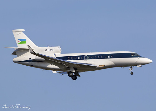 Republic of Djibouti Falcon 7X J2-HPV
