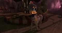 A small walk with my new companion (schmetterlingchen.resident) Tags: cinnamon centaur jinx whymsikal fantasy sl second life virtual world lunistice