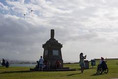 2018-06-10 Puerto Rico San Juan Old San Juan 007 (Ray Bernoff) Tags: sanjuan puertorico travel architecture sky clouds oldsanjuan kites park