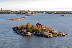Helsinki, Finland (Ninara) Tags: gulfoffinland helsinki cruise finland sea island ryssänsaari home