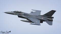 RNLAF F-16AM Fighting Falcon (Caspar Smit) Tags: j631 rnlaf f16 falcon viper fightingfalcon leeuwarden ehlw frisianflag aircraft fighter jet aviation airforce nikon d7000