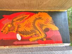 Streetart under the bridge @ Oude Baan Leuven (Kristel Van Loock) Tags: streetart mural streetartleuven leuven louvain lovanio lovaina löwen atleuven seemyleuven visitleuven leveninleuven drieduizend iloveleuven loveleuven leuvenlove oudebaanleuven underthebridge onderdebrug oudebaan artwork tomcech tomcechartwork muralart leuveninbeeld vlaamsbrabant flanders fiandre flandre flemishbrabant brabantflamand brabantefiammingo visitflemishbrabant visitvlaamsbrabant vlaanderen visitbelgium streetartbelgium colorfulstreetart colorful painting streetartisttomcech rabbit beautifulstreetart s komopvoorjewijk stadleuven opmaatvanonzestraat brug bridge