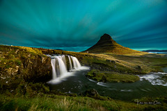 Kirkjufell (Ellen van den Doel) Tags: autumn ijsland landscape waterval nature water borealis outdoor northern fall september clouds snæfellsnes iceland aurora light rainbow waterfall night natuur colors kirkjufell sky stones herfst 2019 landschap mountain