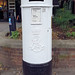 White Pillar Box
