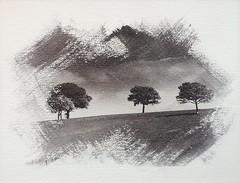 Quartet. (Monobod 1) Tags: liquid light photoemulsion watercolour paper seleniumtoner alternativeprocess