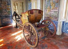 Horse-drawn carriage at Queluz Royal Palace (jo92photos) Tags: horsedrawncarriage decorated queluz royalpalace tiles decorative palace portugal lisbon horsedrawn carriage historic