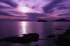 Purple sunset (irmur) Tags: sunset greece blue