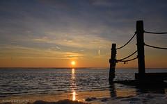 North Holland Sunrise (De Hollena) Tags: holland lespaysbas morgenrot morgenröte nederland niederlande noordholland nordholland sonnenaufgang sunrise thenetherlands waddensea waddenzee watt wattenmeer zonsopgang paísesbajos