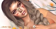 # ❥349 (SandraReja) Tags: blog blogger secondlife virtual portrait face skin tattoo hairbase eyes bloody bandage lashes hair events bento mesh appl shape genus strongface revoul twotonedeyes spookiana niptuck