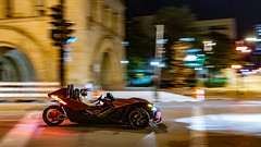 Night Cruise (Sharky.pics) Tags: usa urban milwaukeecityhall car automobile architecture wisconsin august city cityscape milwaukee 2019 unitedstatesofamerica cars