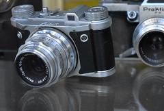 Old cameras (thomasgorman1) Tags: camera altix praktina cameras display berlin germany photography nikon