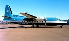 OY-SRR   Fokker F-27-600 Friendship [10392] (Star Air) Stockholm-Arlanda~SE 09/06/1988 (raybarber2) Tags: 10392 abpic airportdata cn10392 danishcivil essa filed flickr oysrr planebase propliner raybarber slide