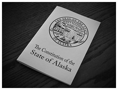 271/365 The Constitution of the State of Alaska (OhWowMan) Tags: ohwowman nikon nikkor d3300 acdseepro9 my2019challenge 365project animageaday dailyphotography 365the2019edition 3652019 day271365 28sep19 alaska alaskan government blackandwhite blackwhite bw black white monochrome